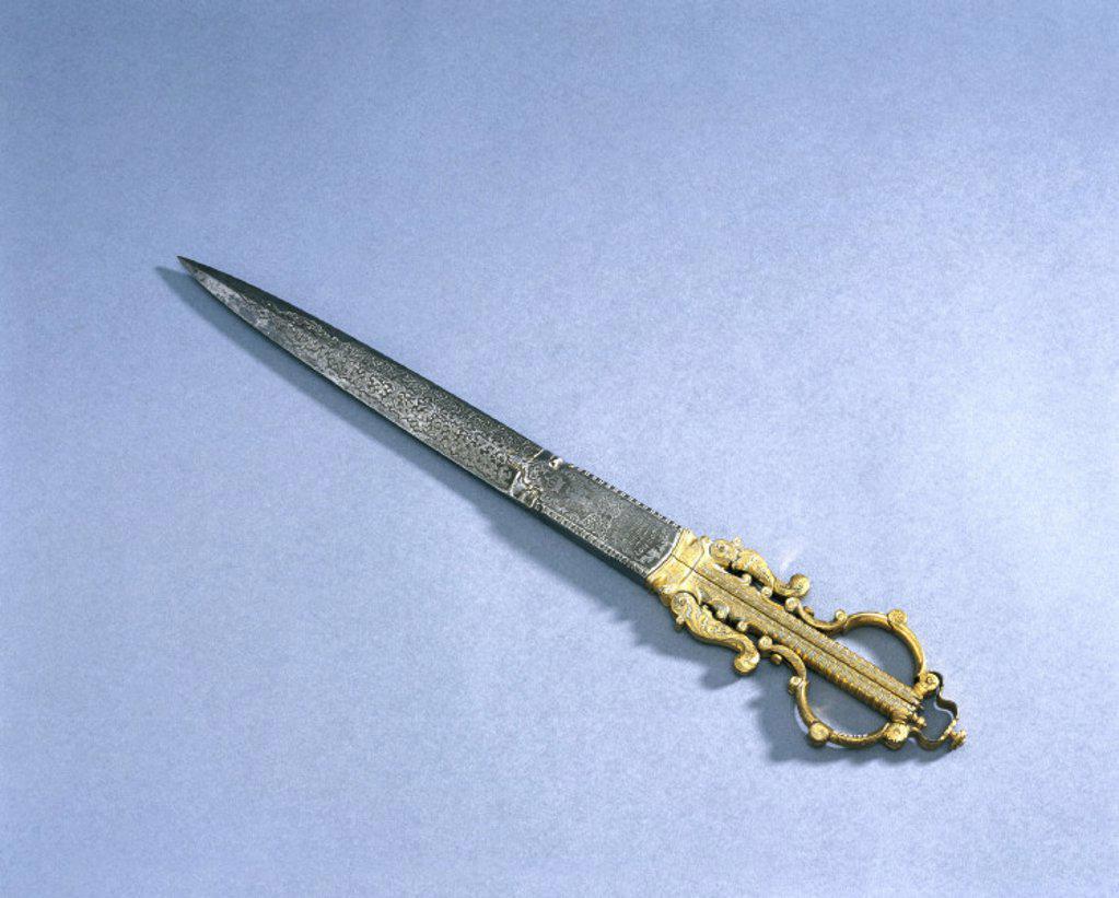 Stock Photo: 1895-12208 Scissors, 1850-1900.