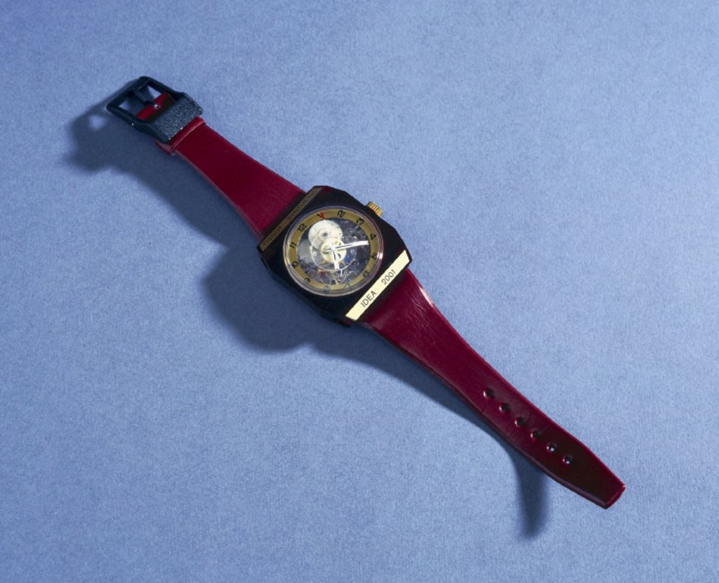 ´Tissot synthetic idea 2001´ watch, 1971. : Stock Photo
