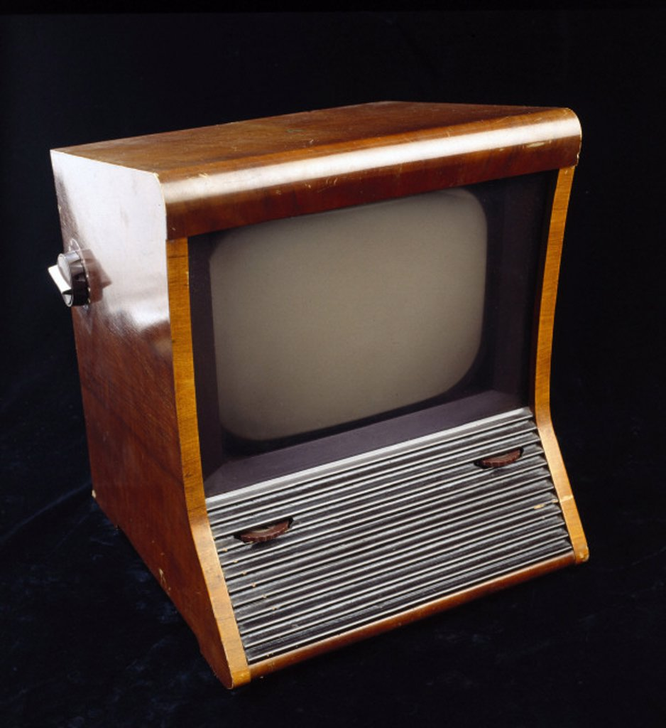 Stock Photo: 1895-12319 Television set, c 1946.