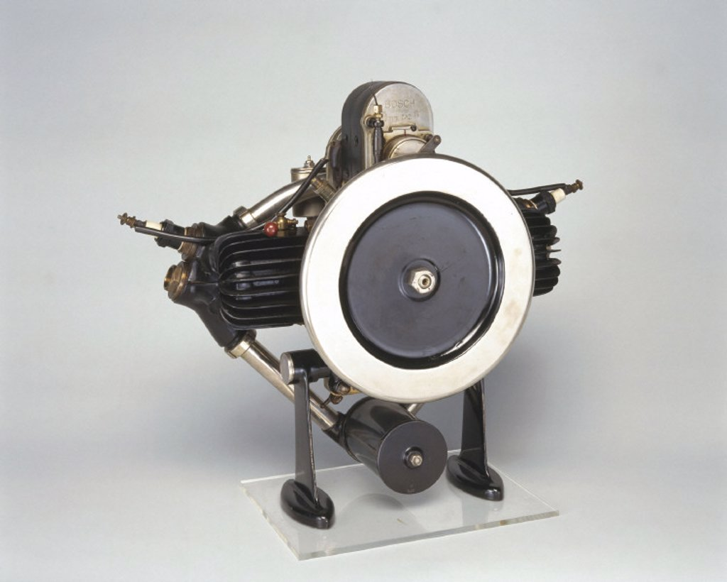 Douglas engine, 1911. : Stock Photo
