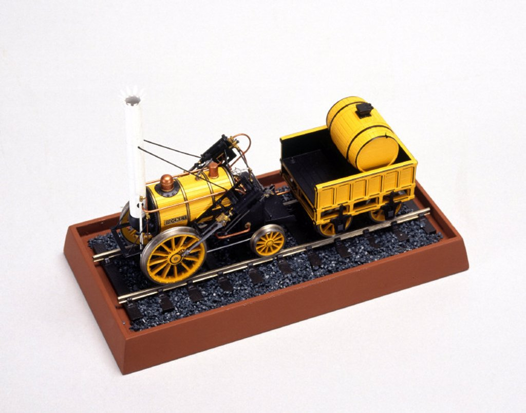 Stephenson´s ´Rocket´, 1829. ´O´ gauge Ful : Stock Photo