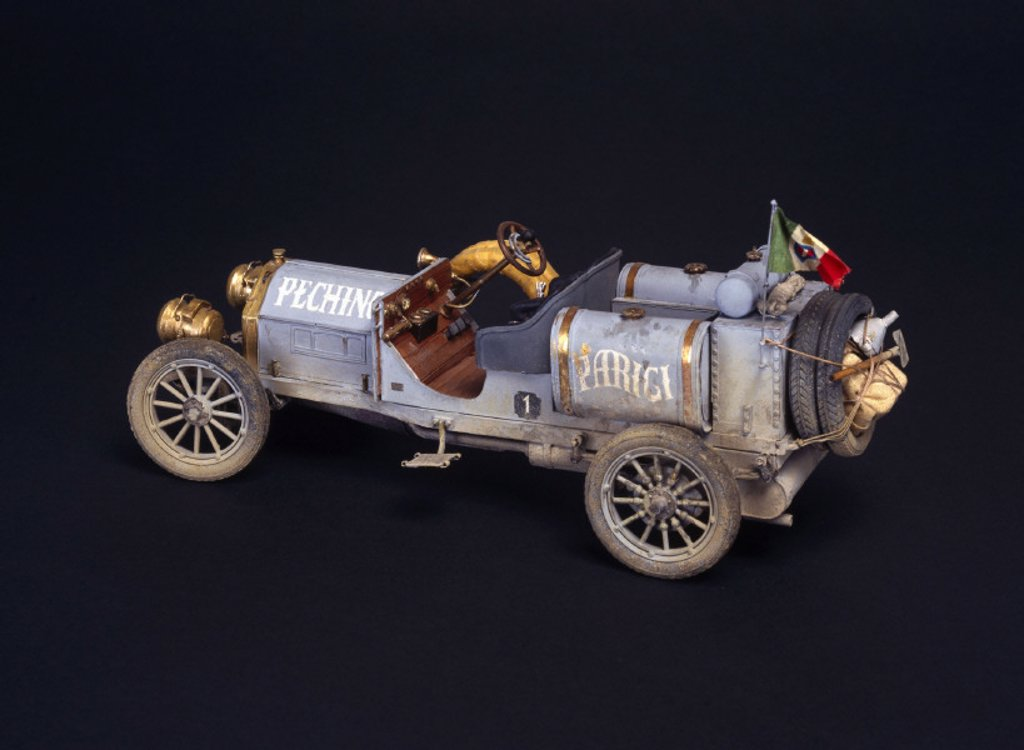 Itala racing car, 1907. : Stock Photo