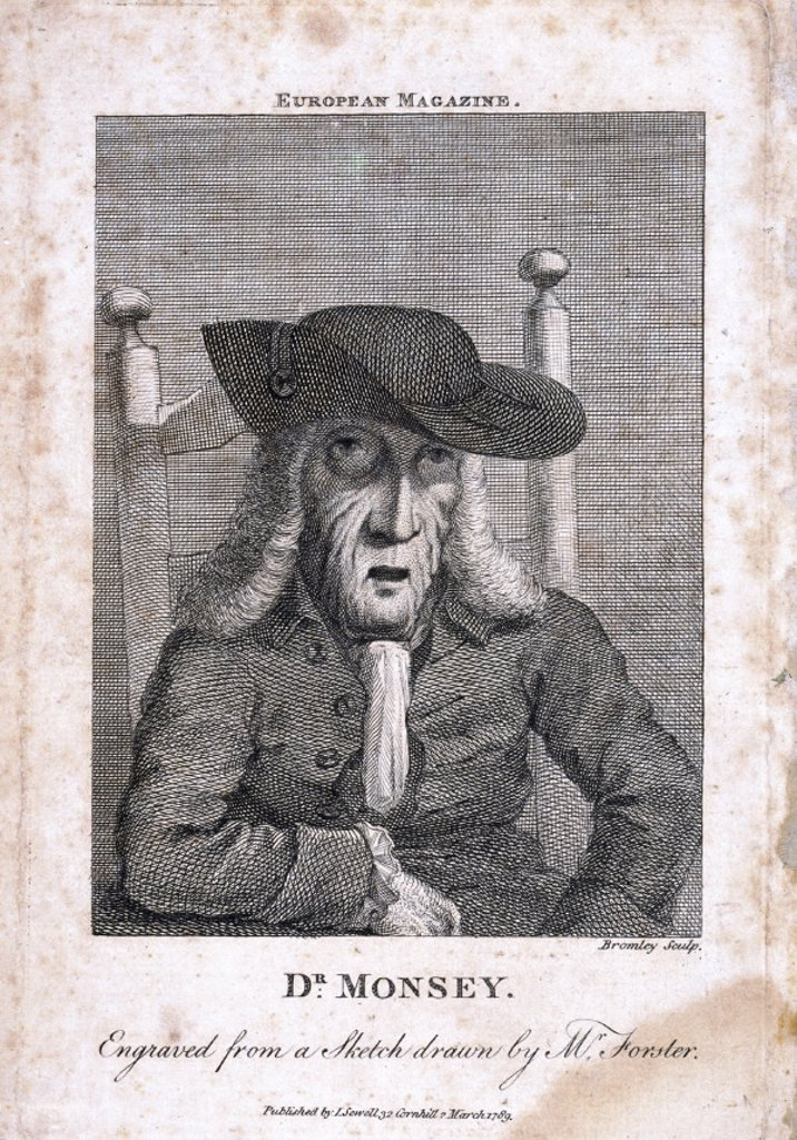 Stock Photo: 1895-12953 Messenger Monsey, English physician, 1788.