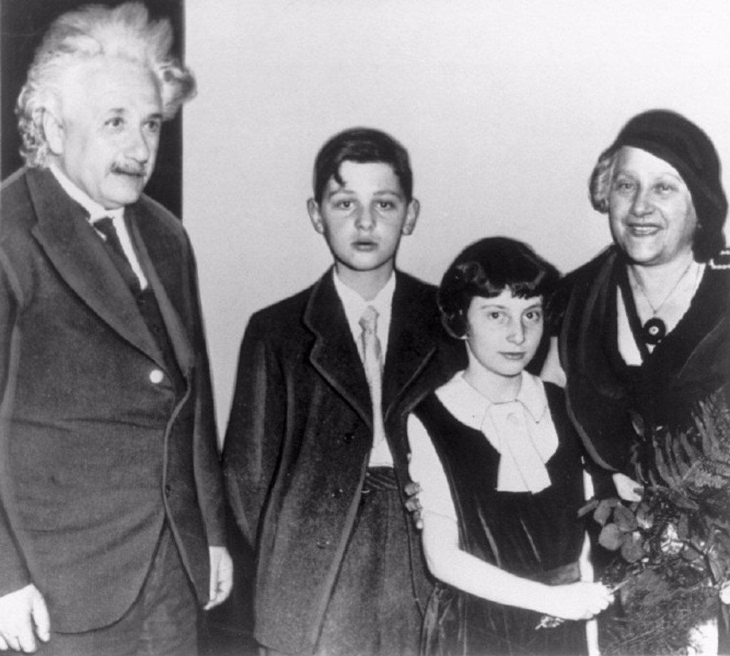 Albert Einstein, German mathematical physicist, c 1930s. : Stock Photo