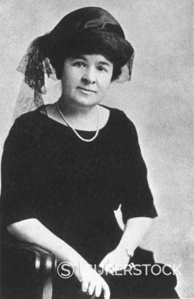 Clara Bryant, wife of motor manufacturer Henry Ford, c 1900 : Stock Photo