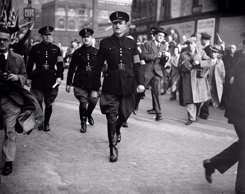 Oswald Mosley, English politician, 4 October 1936. : Stock Photo
