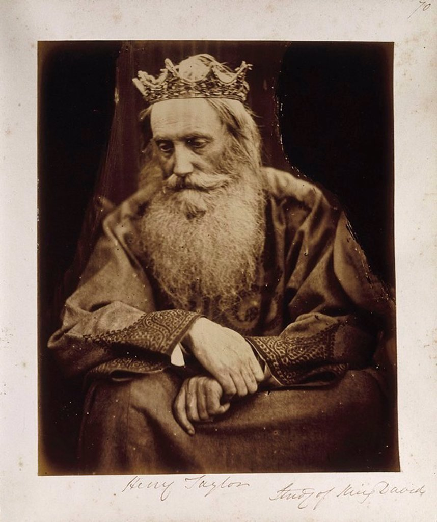 ´King David´, 1866 : Stock Photo