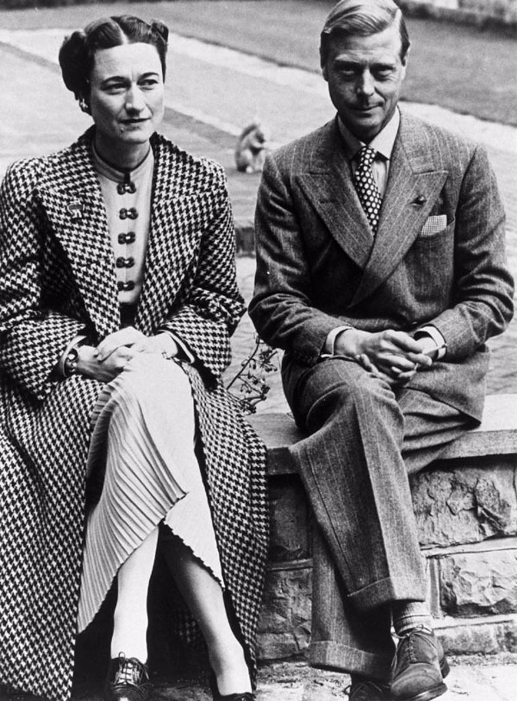 The Duke and Duchess of Windsor, 13 September 1939. : Stock Photo
