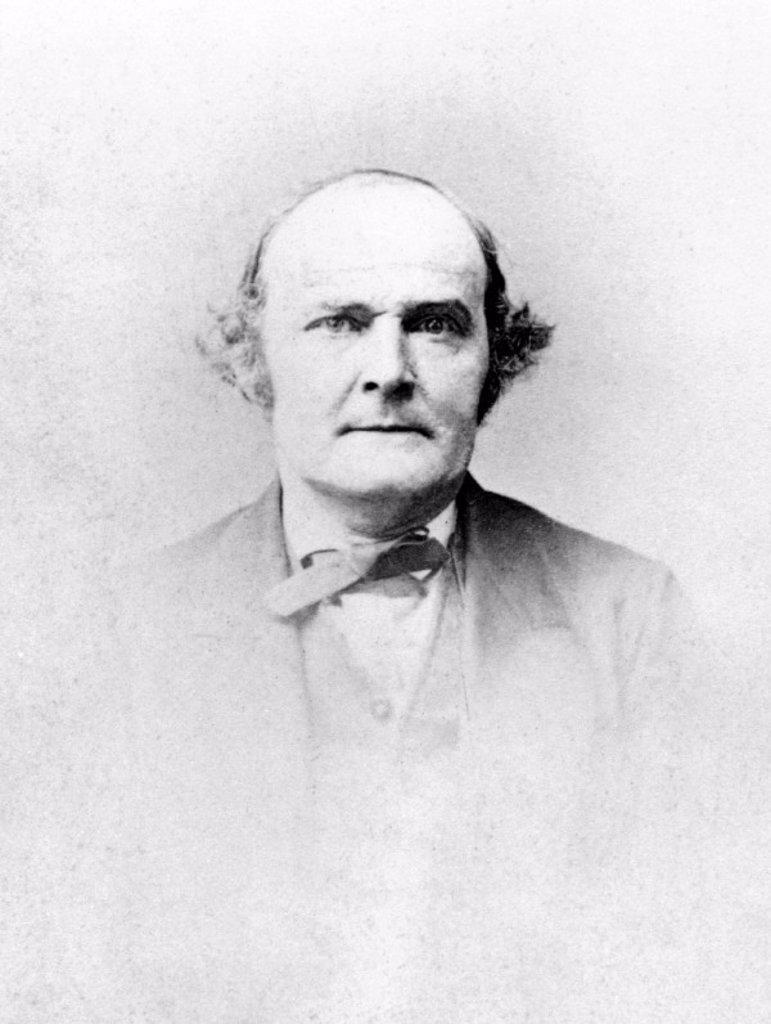 Sir Arthur Cayley, English mathematician, mid-19th century. : Stock Photo