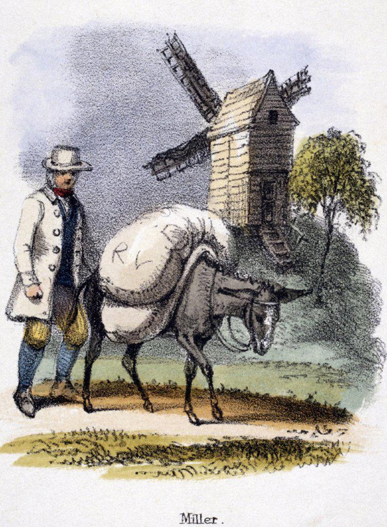´Miller´, c 1845. : Stock Photo