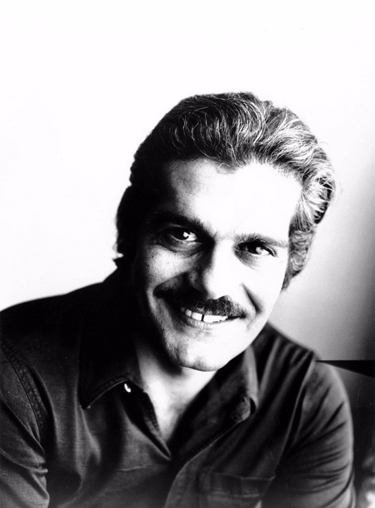 Omar Sharif, 8 September 1969. : Stock Photo