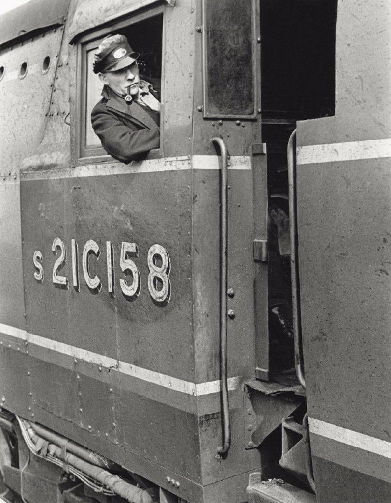 ´The Engineman´, April 1948. : Stock Photo