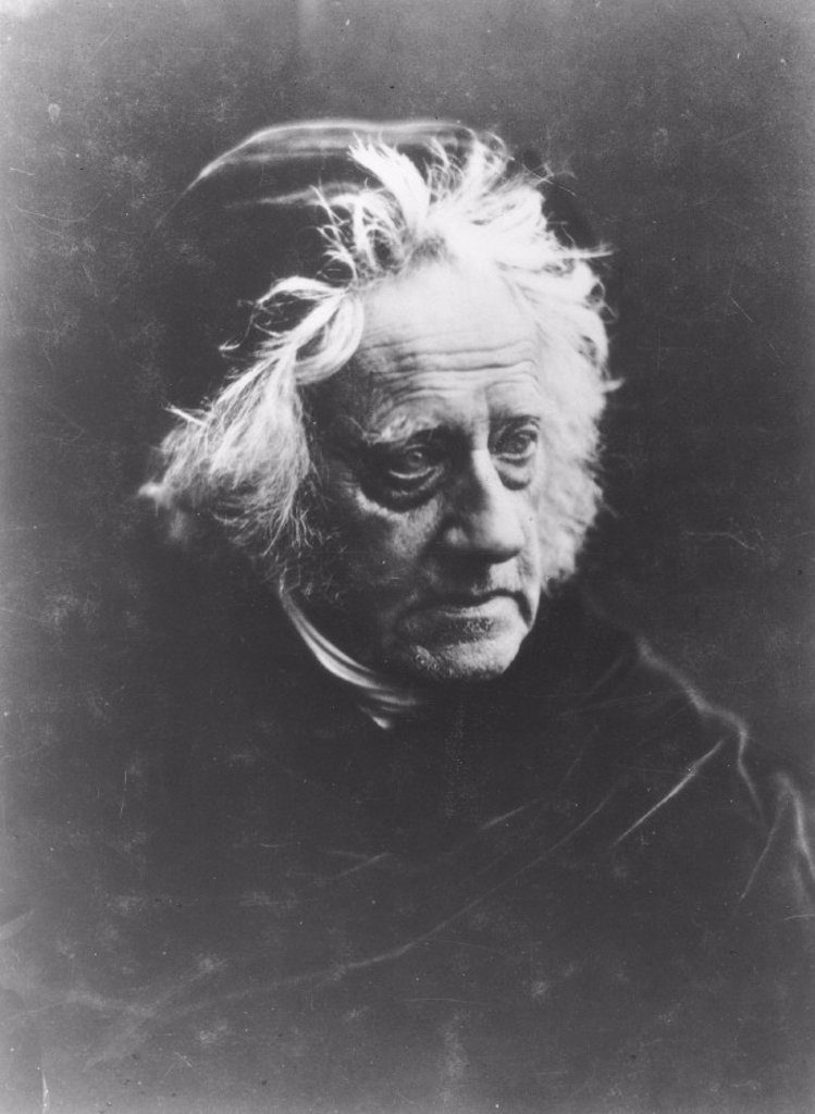 Stock Photo: 1895-19025 Sir John Frederick William Herschel, c 1865.