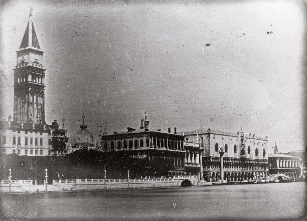 Doges´ Palace, Venice, Italy, c 1841. : Stock Photo