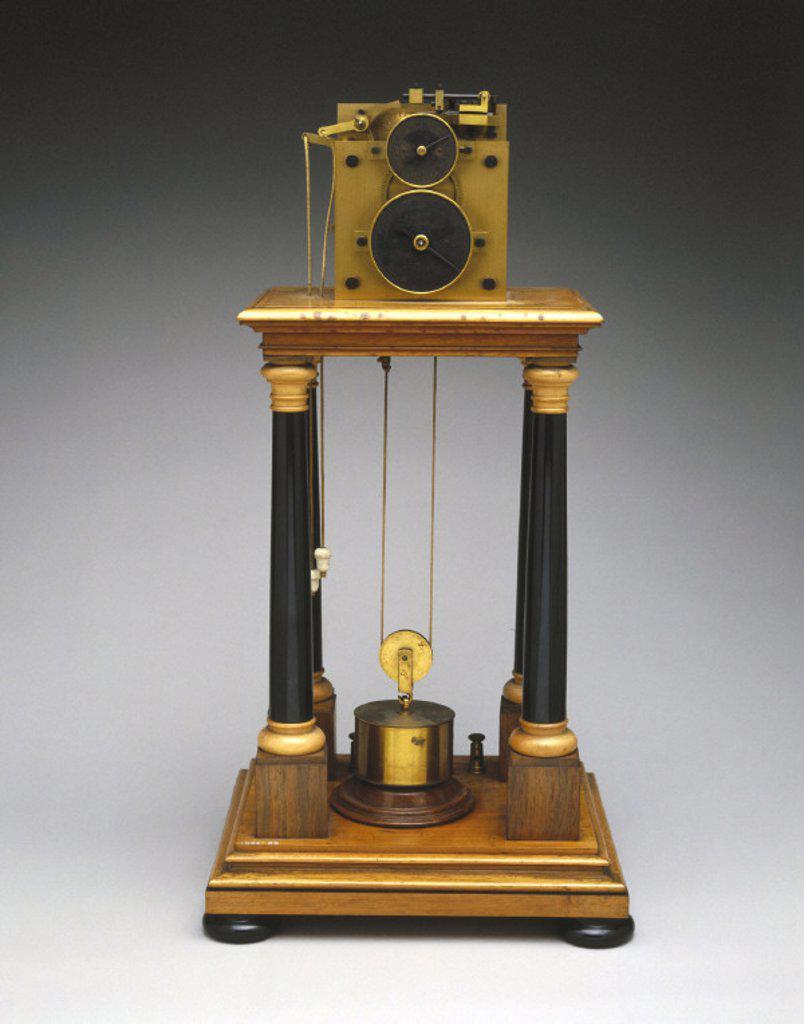 Hipp chronoscope, Swiss, 1888. : Stock Photo