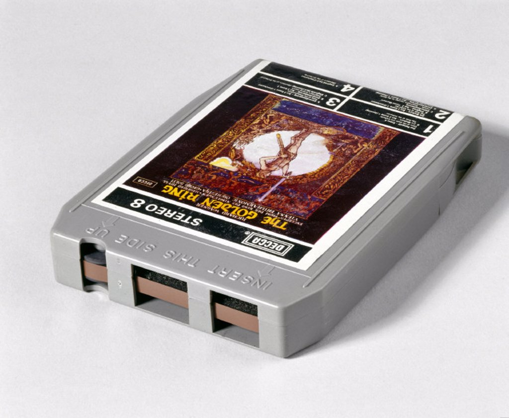8-track tape, 1970-1980. : Stock Photo