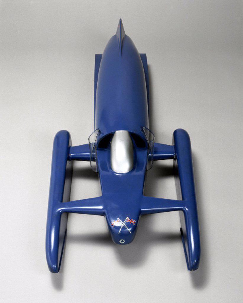 'Bluebird K7´,  World Water Speed Record contender, 1958. : Stock Photo