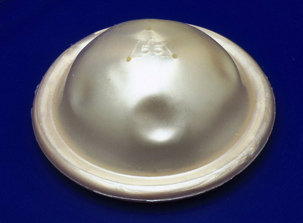 Stock Photo: 1895-19884 Contraceptive diaphragm, 2000.