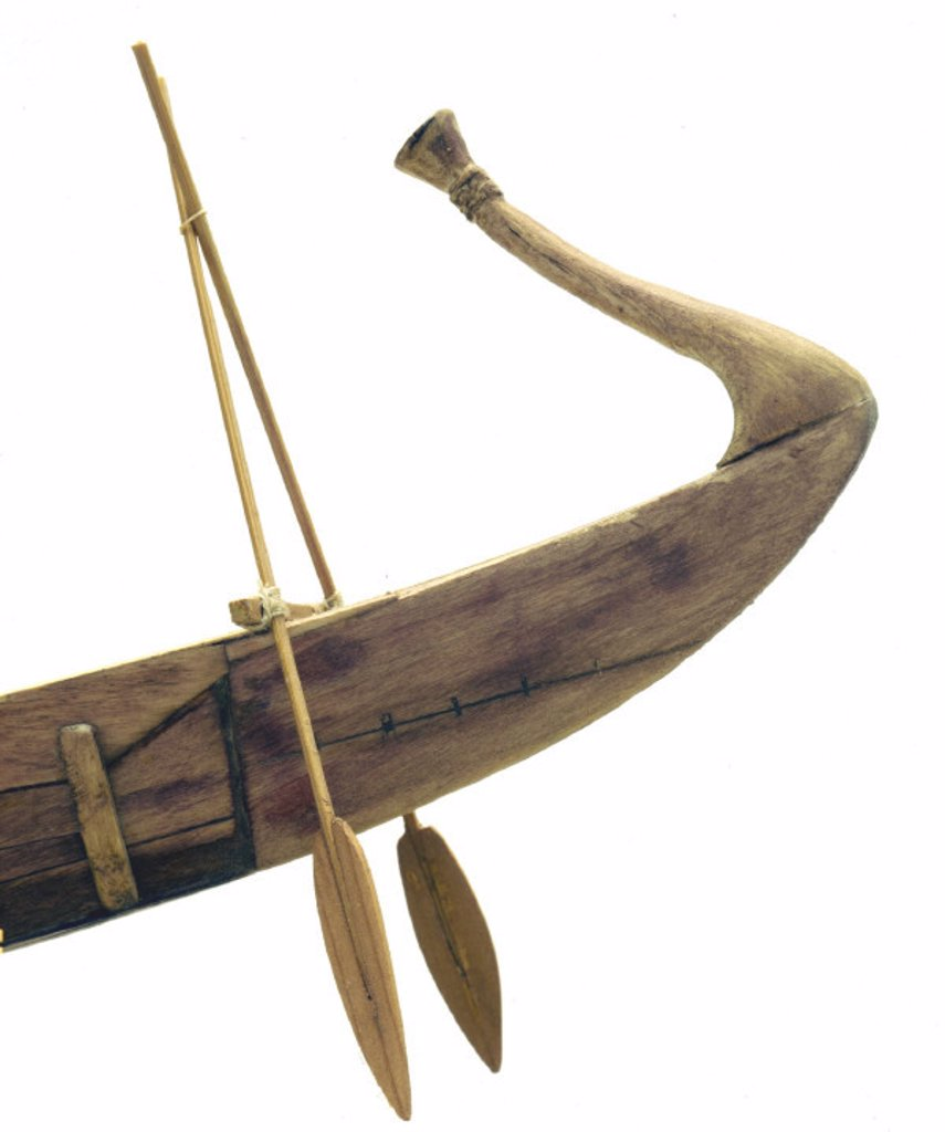 Royal ship of Cheops, c 2500 BC. : Stock Photo