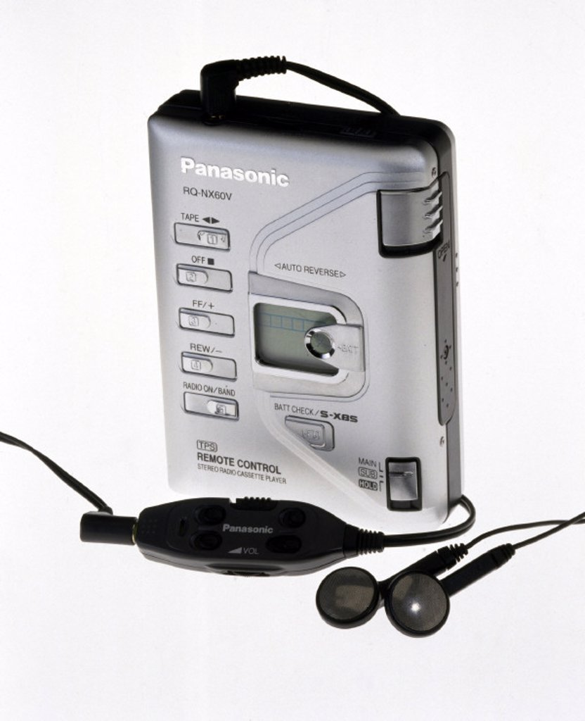 Personal stereo, c 2000. : Stock Photo