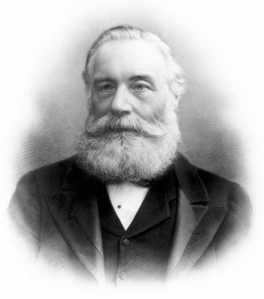 Stock Photo: 1895-20728 Sir William Henry Perkin, English chemist, c late 19th century.