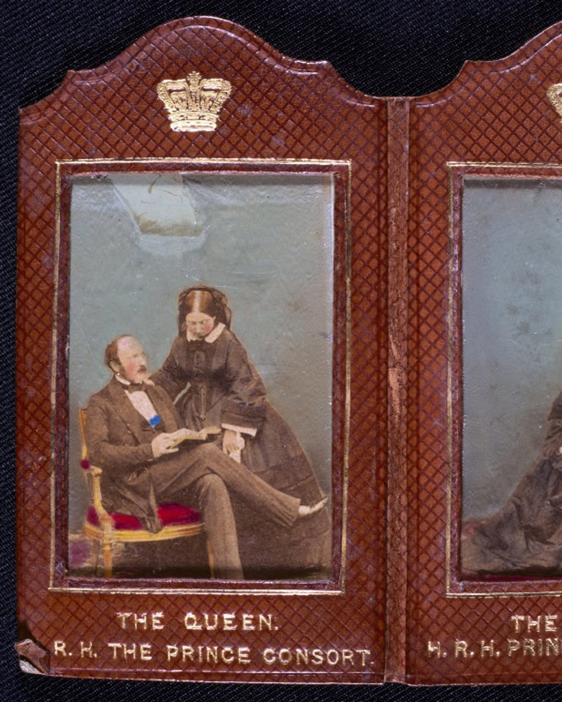 Stock Photo: 1895-20794 Queen Victoria and Prince Albert, c 1850s.