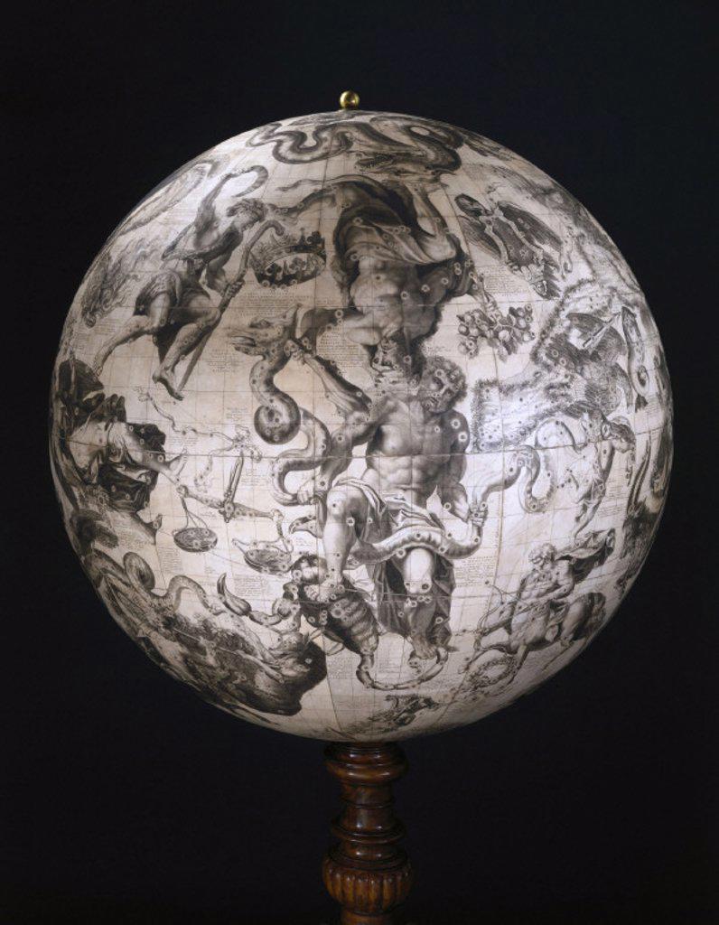 Stock Photo: 1895-21508 Celestial globe, 1693.