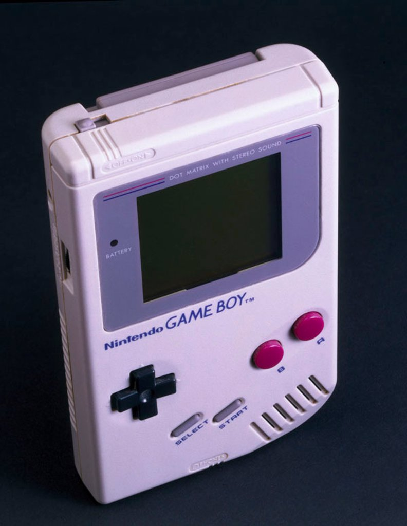 Stock Photo: 1895-21949 Nintendo ´Game Boy´, 1989.