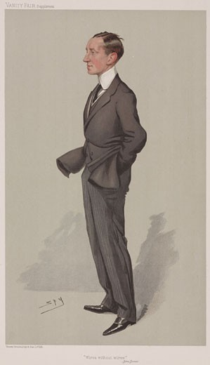 Guglielmo Marconi, Italian inventor and physicist, 1905. : Stock Photo