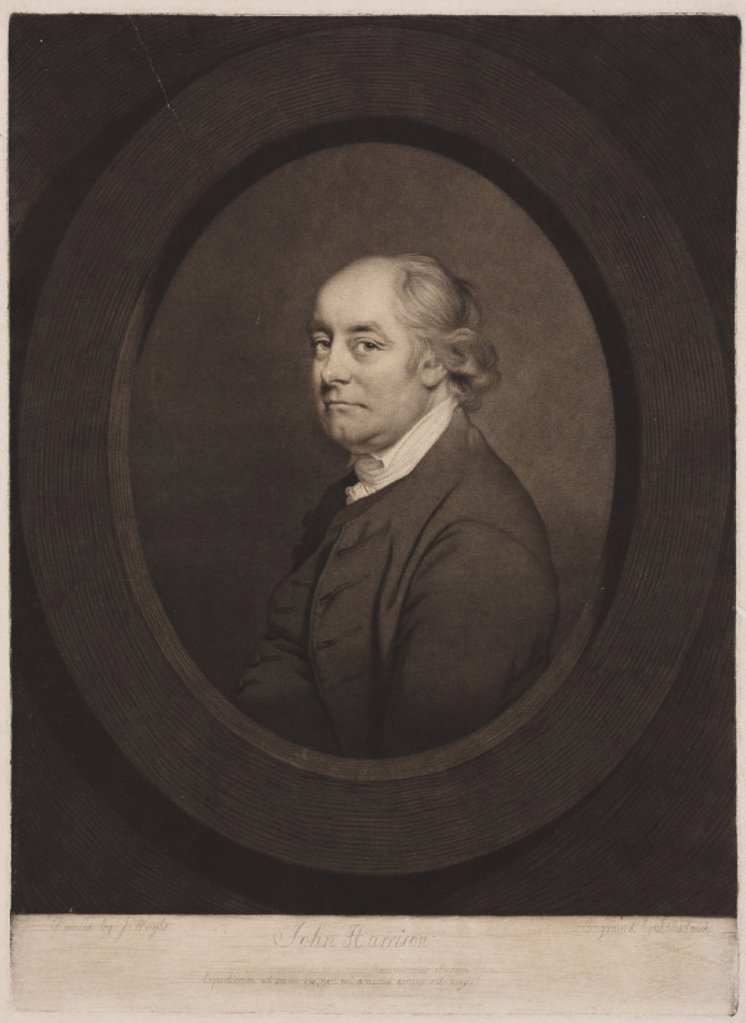 Stock Photo: 1895-22394 John Harrison, English inventor and horologist, 18th century.