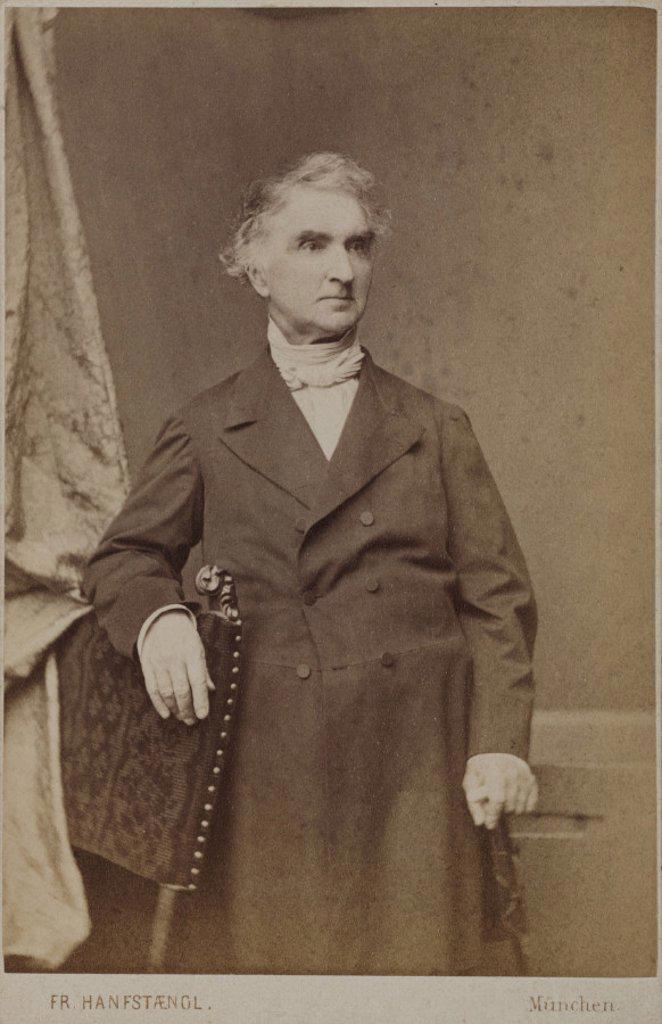 Justus von Liebig, German chemist, c 1860-1873. : Stock Photo