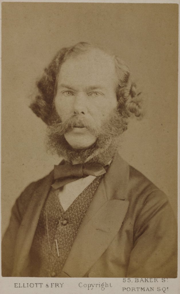 George Henry Lewes, English writer and philosopher, c 1865-1878. : Stock Photo