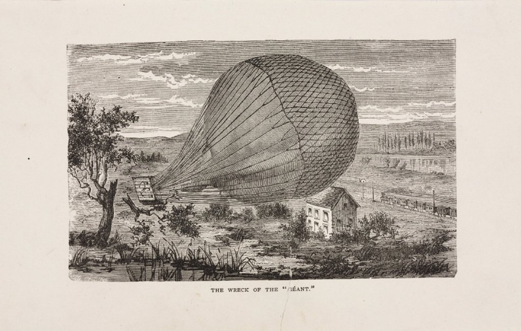 Stock Photo: 1895-23542 'The Wreck of the 'Geant'', 19 October 1863.