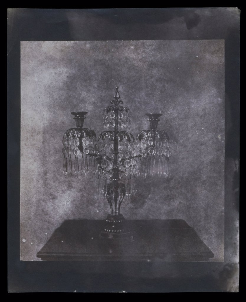 Candelabra, 19th century. : Stock Photo