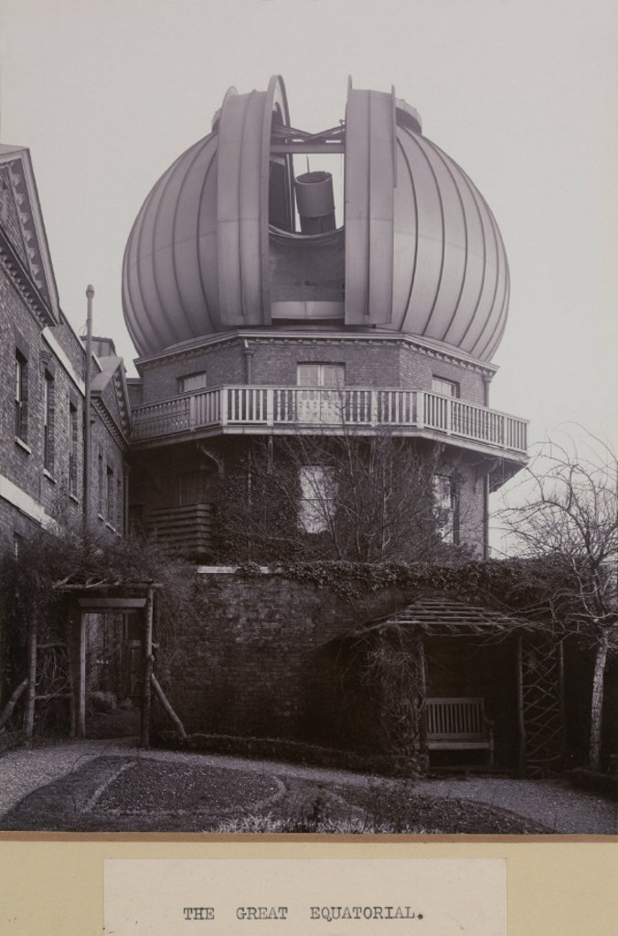 The Royal Observatory, Greenwich, London, 1914. : Stock Photo