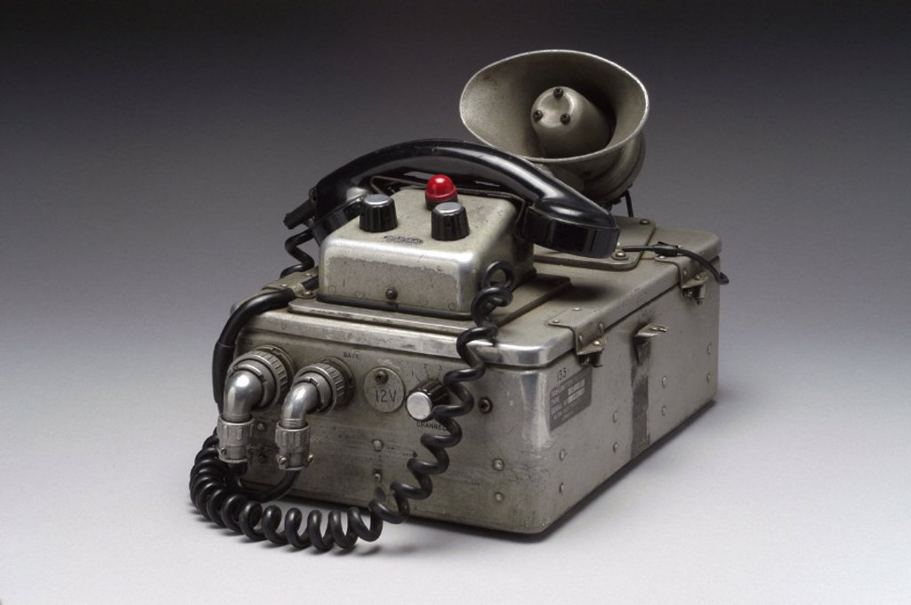 Stock Photo: 1895-24693 Ultra Valiant VHF radio telephone, 1963.