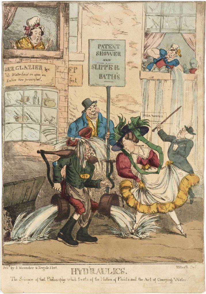 ´Hydraulics', late 19th century. : Stock Photo