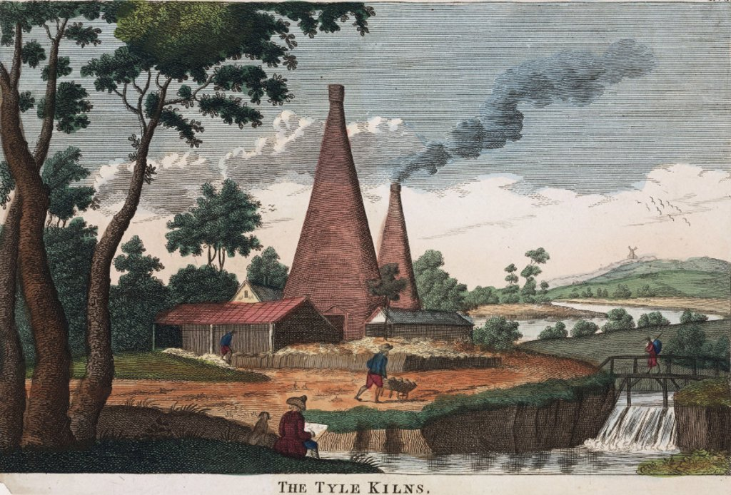 Stock Photo: 1895-25510 ´The Tyle Kilns', 1780-1830.
