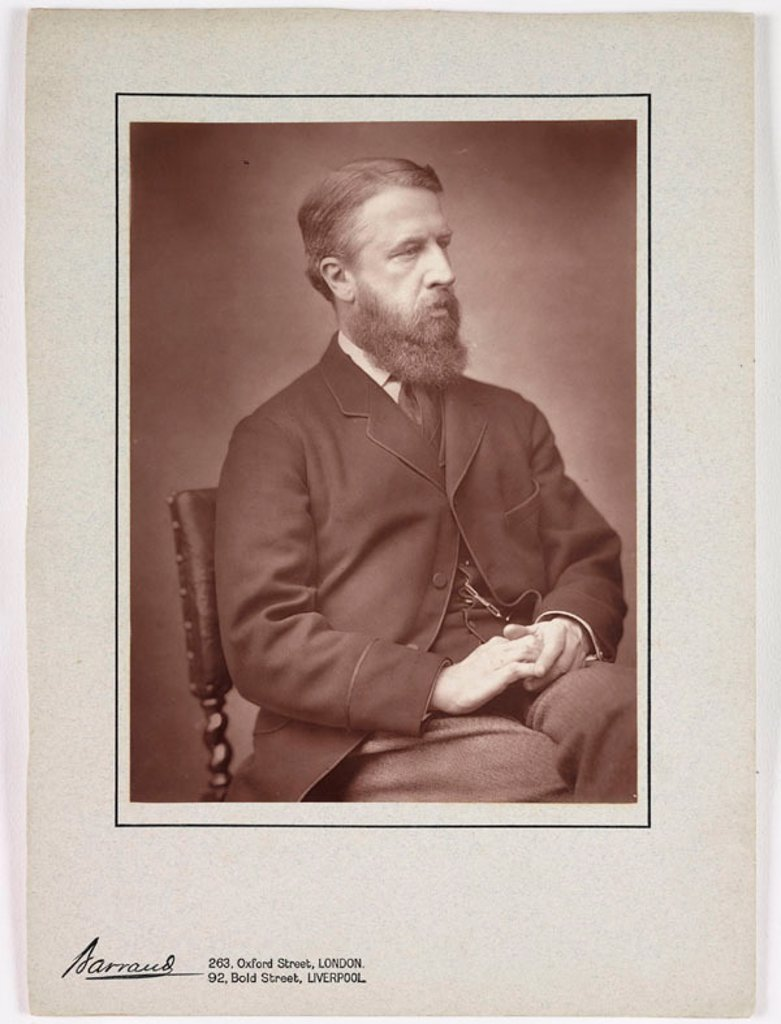 The Marquis of Hartington, c 1885. : Stock Photo
