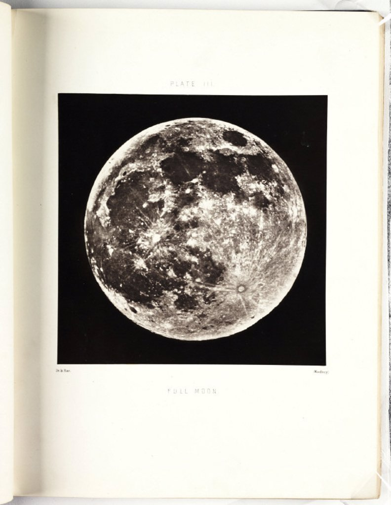 'Full Moon', c 1855 : Stock Photo
