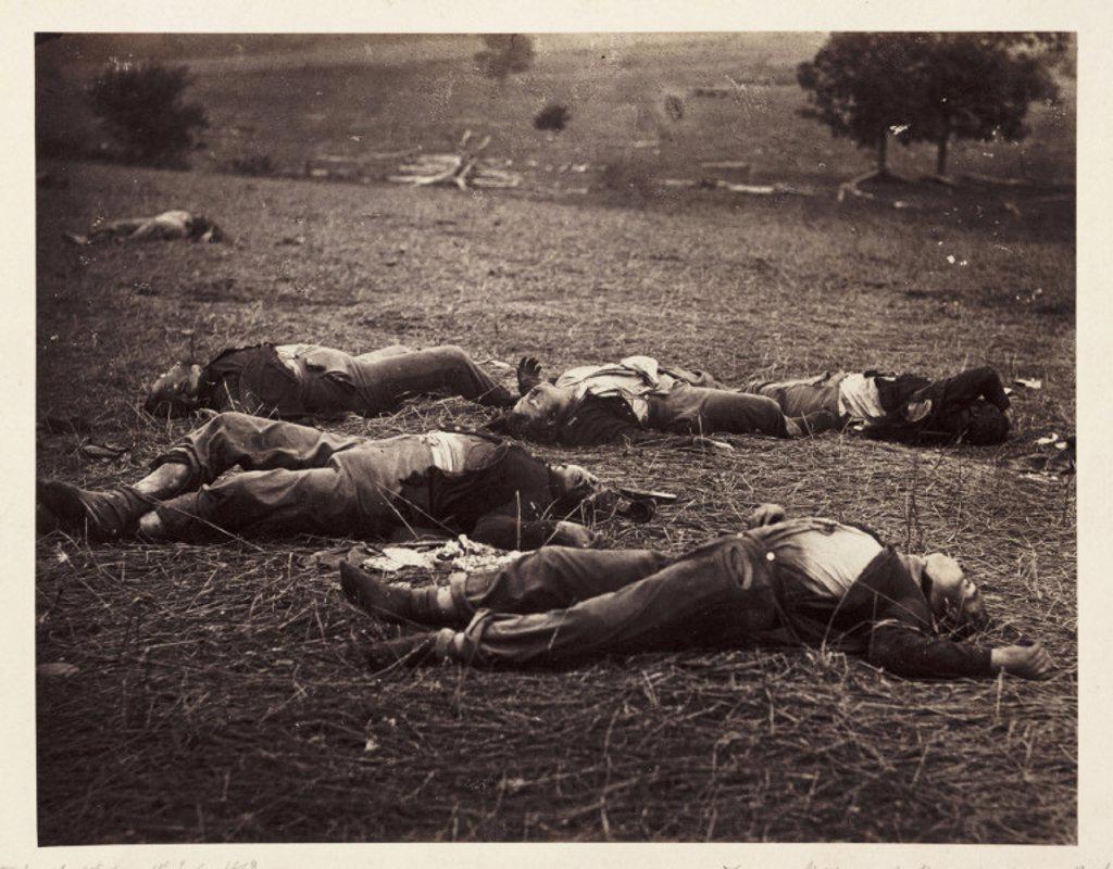 'Gettysburg 1st day...', 1863 : Stock Photo