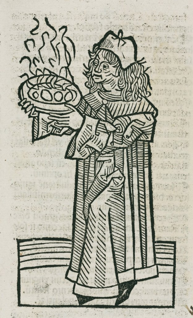 Herbalist, 1497. : Stock Photo