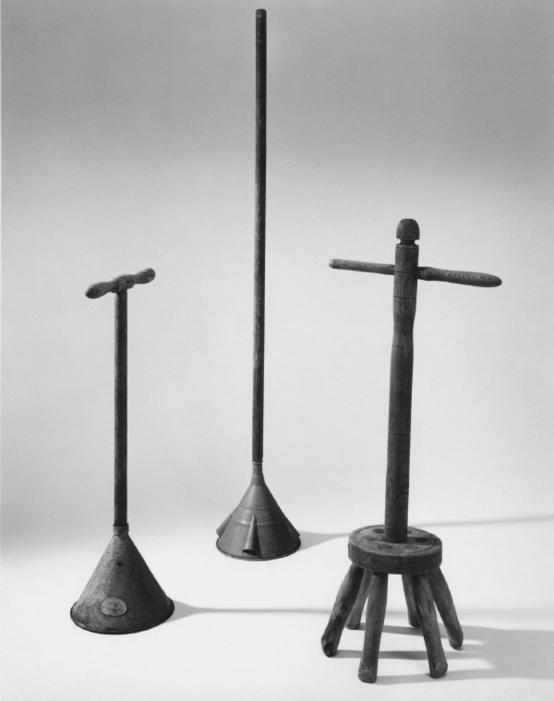 Washing dollies, c 1550-c 1780. : Stock Photo
