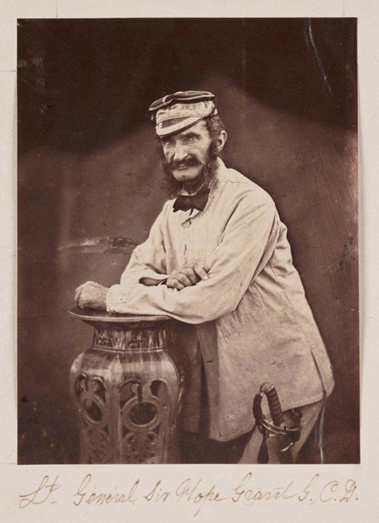 Stock Photo: 1895-34239 'Lt General Sir Hope Grant GCD', 1860.