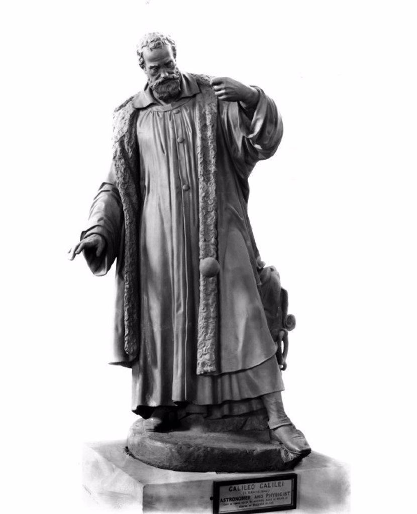 Galileo Galilei, Italian astronomer and physicist, c 1630. : Stock Photo