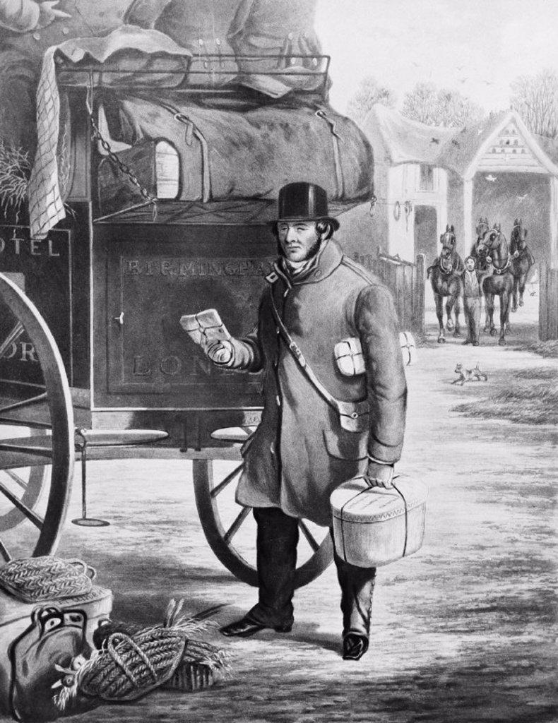 Porter, 1832 : Stock Photo