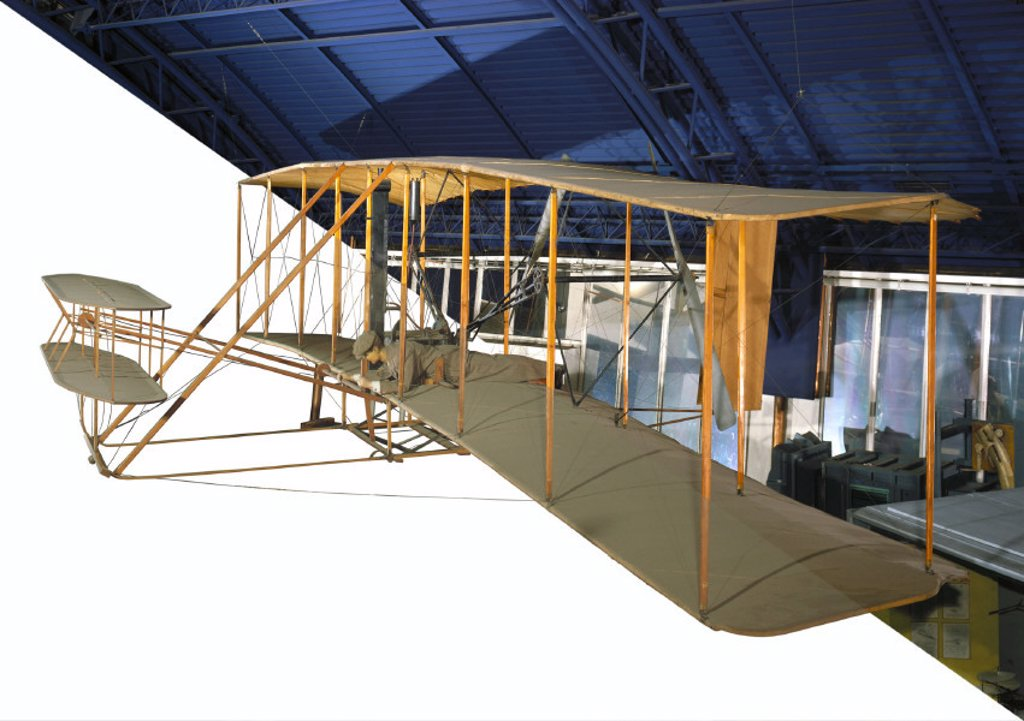 Wright Flyer, 1903. : Stock Photo
