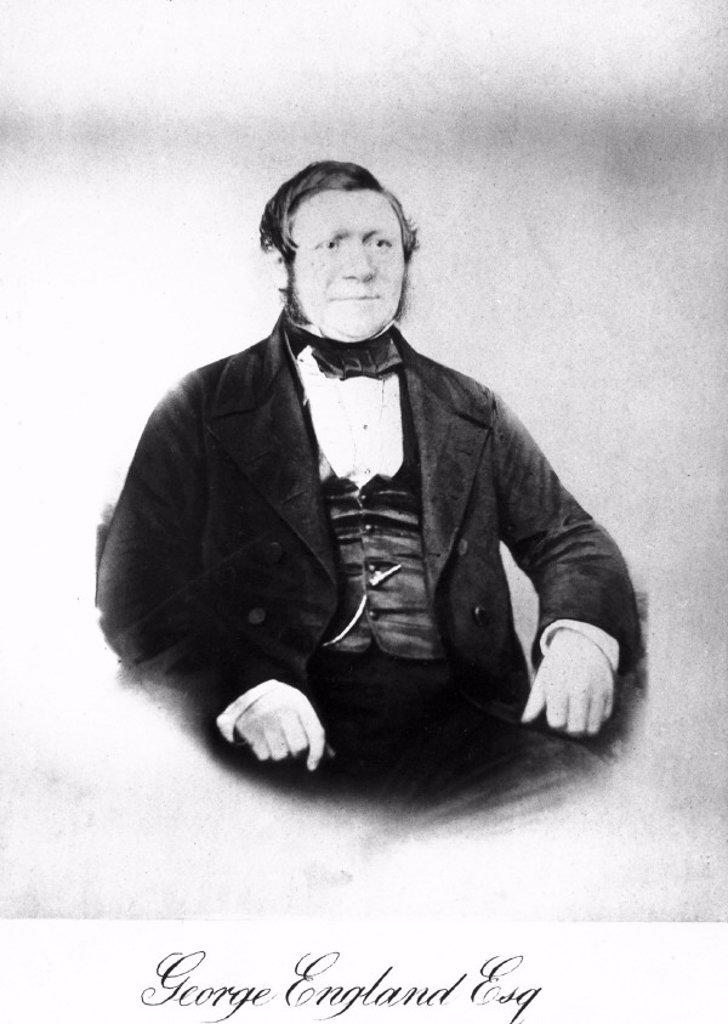 George England, English locomotive maker, mid-19th century. : Stock Photo