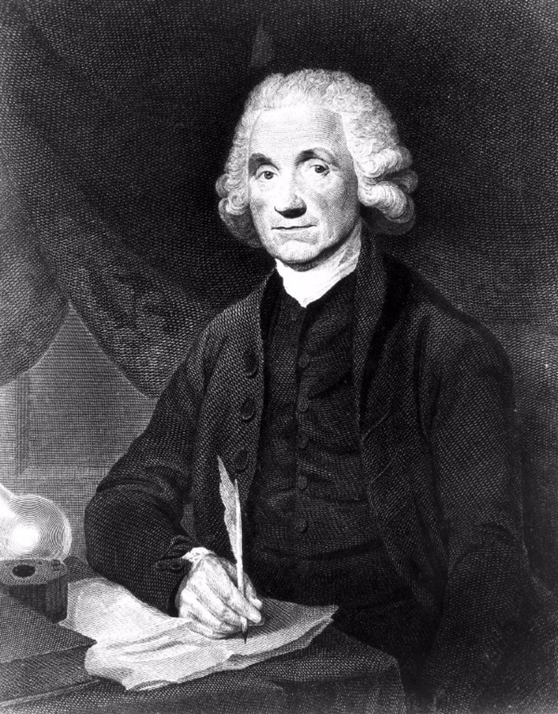 Stock Photo: 1895-3861 Joseph Priestley, English-American theologian and chemist, 1794.