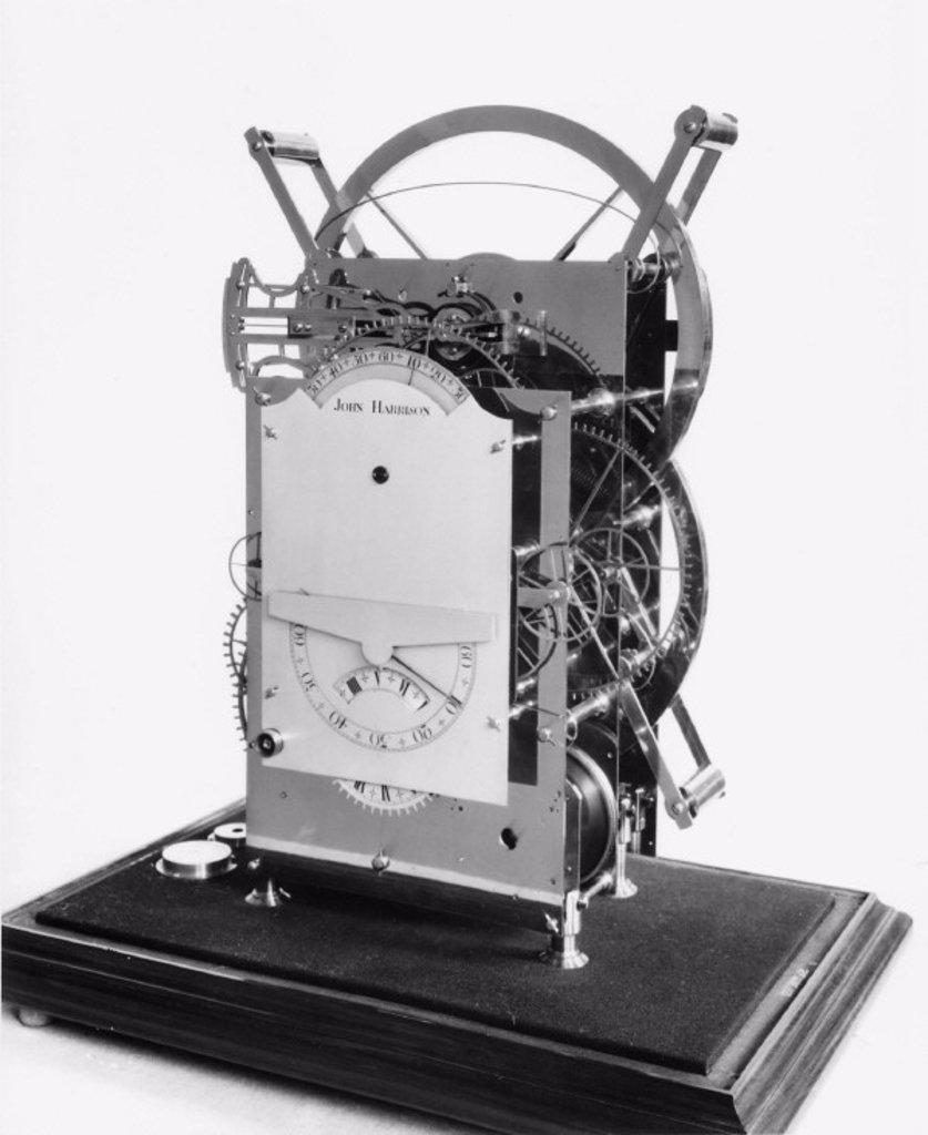 Harrison´s third marine chronometer, 1757. : Stock Photo